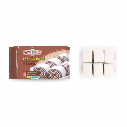 Happy Belly Oriental Bread (Chocolate) [6pcs/Pack][HALAL]