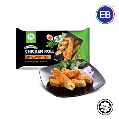 EB Salted Egg Chicken Roll [600g/pack] [HALAL]
